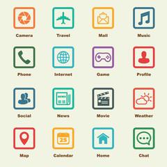 application elements