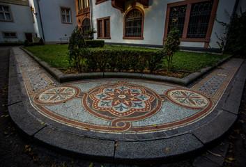 Mosaik im Schloßpark von Bad Kreuznach