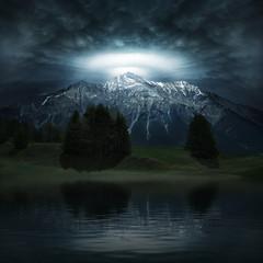 The Alpöhi illumination