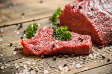 Poster Viande Beef meat