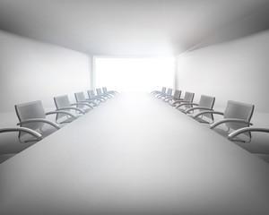 Meeting room. Vector illustration.