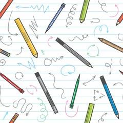 Funny School Pattern