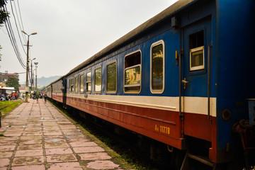 Train to Sa Pa, Vietnam