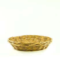 weaving wicker basket