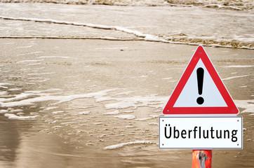 Achtung Überflutung