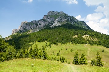 Fototapete - Mt. Velky Rozsutec, Mala Fatra, Slovakia
