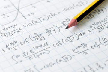 Mathematics and engineering formula