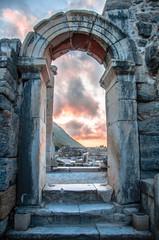 EPHESUS, TURKEY – August 05, 2014 at Ephesus, Turkey