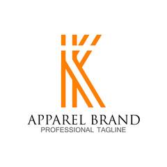 K - Apparel Brand - Logo vector