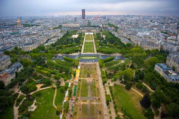 View over Paris