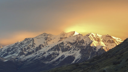 Mount Timpanogos, Utah 2015-02-08