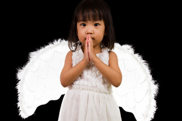 Asian Chinese Little Angel