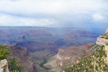 Nuvole su Grand Canyon