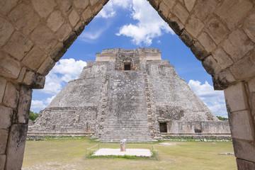 Maya ruins of Uxmal