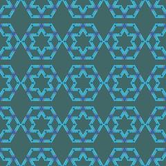 seamless geometric background colorful design