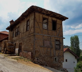 Traditional house in eastern Macedonia