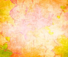 Skeleton leaves grunge background