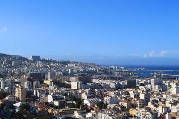 Alger la blanche et son port, Algérie