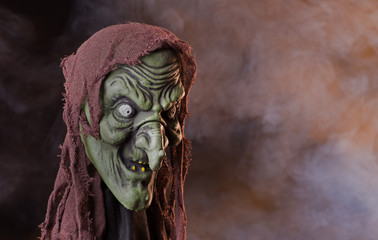 Scary Witch Head Prop