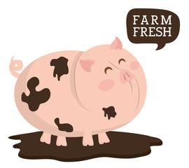 Farm animals design.