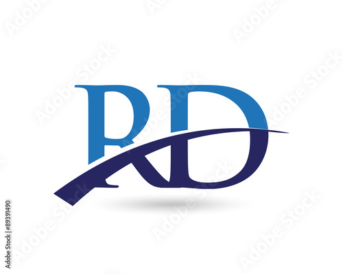 quotrd logo letter swooshquot stock image and royaltyfree