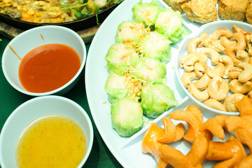 appetizer or first course , Thai food