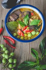 Chicken Green Curry, Thai Food, Thai Food Delicious