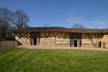 France, picturesque Bresse museum in Saint Cyr sur Menthon