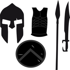 Spartan Weapons set 1