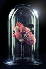 Herz im Glas