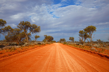 Photo sur Aluminium Australie Outback road