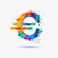 Vector euro sign