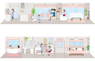 生活空間 / 家族