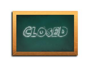 closed / illustrazione photoshop