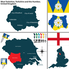 West Yorkshire, Yorkshire and the Humber, UK
