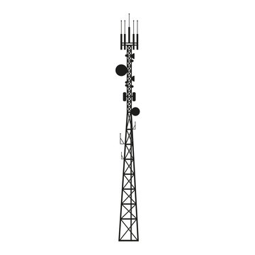 Telecommunication antenna mast or mobile tower