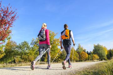 Walking-Tour im Herbst