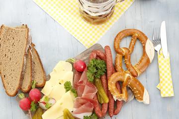 bayrische Brotzeit