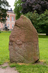 Viking Runestone U938 in Uppsala, Sweden