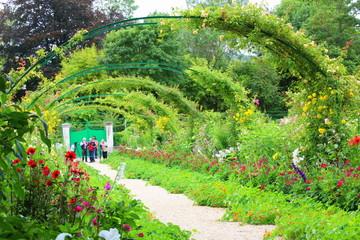 Giardino della casa di Monet a Giverny