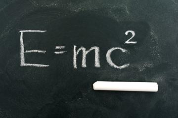 E=mc2,Albert Einstein,chalkboard,chalk,blackboard,colored chalk