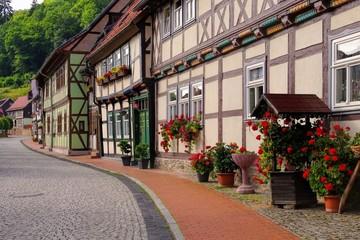 Stolberg Fachwerkhaeuser - Stolberg half-timber houses 03