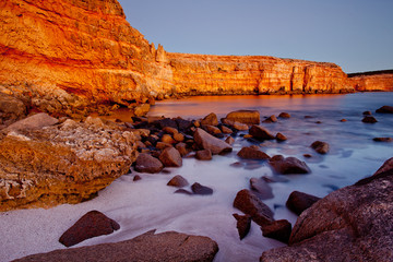 Wanna Cliffs. Eyre Peninsula. South Australia.