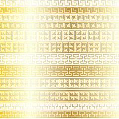 gold Fretwork Borders