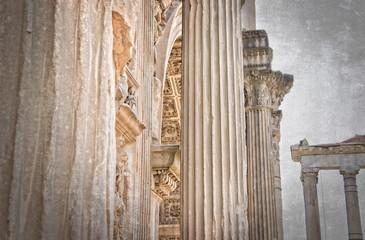 Forum of Caesar in Rome. Italy