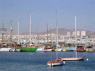 Eilat port 2005