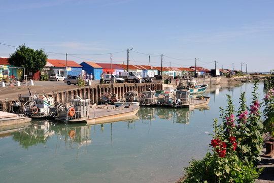 Petit port de Saint-Trojan-les-Bains sur l'Ile d'Oléron