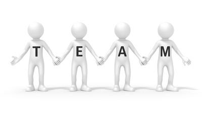 four people team