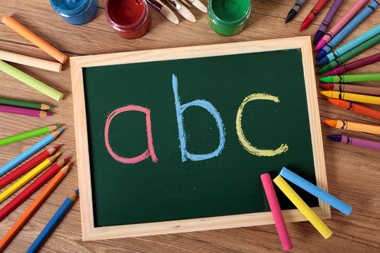 ABC basic reading and writing