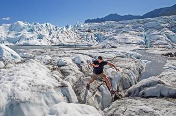 Matanuska Glacier Crevasse Jumper